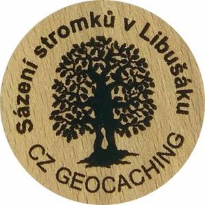 Sázení stromků v Libušáku
