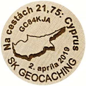 Na cestách 21,75: Cyprus