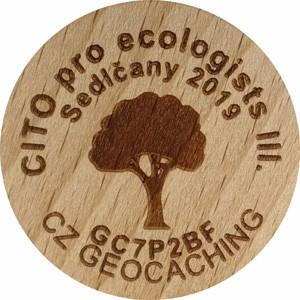 CITO pro ecologgists III.
