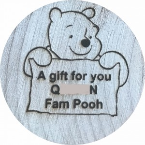 A gift for you Q23ZAN Fam Pooh