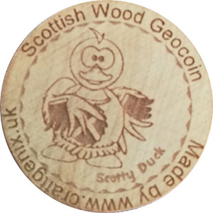 Scottish Wood Geocoin