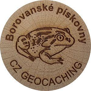 Borovanské pískovny