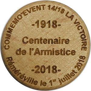 -1918- Centenaire de l'Armistice -2018-