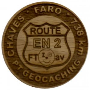 CHAVES * FARO * 738 km