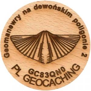 Geomanewry na dewońskim poligonie 2
