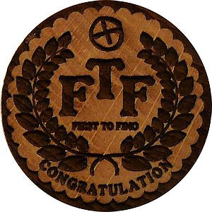 FTF First to Find Congratulation