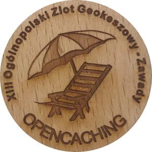 XIII Ogólnopolski Zlot Geokeszowy - Zawady