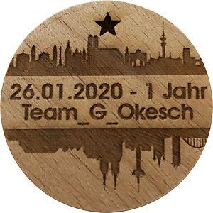26.01.2019 - 1 Jahr Team_G_Okesch