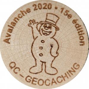 Avalanche 2020 - 15e édition