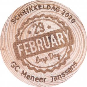 29 februari - Leap Day