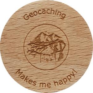 Geocaching Makes me happy!