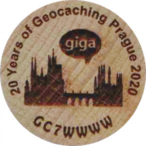 20 Years of Geocaching Prague 2020