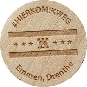 #HIERKOMIKWEG