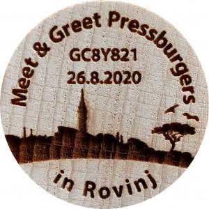 Meet & Greet Pressburgers in Rovinj