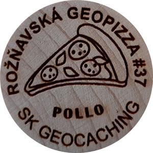 Rožňavská geopizza #37