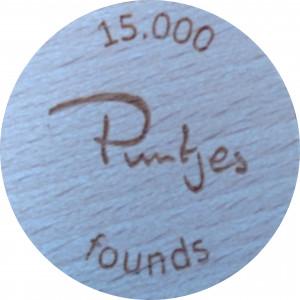 15.000 founds Puntjes