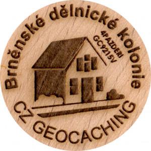 Brněnské dělnické kolonie
