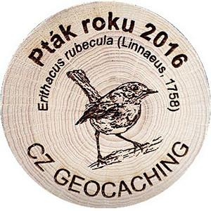 Pták roku 2016