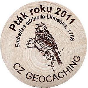 Pták roku 2011