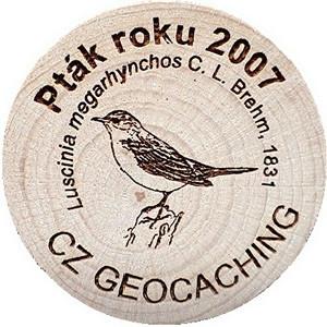 Pták roku 2007