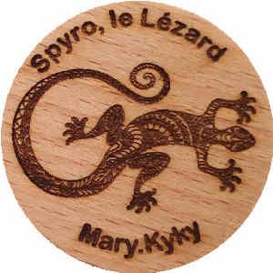Mary.Kyky Spyro, le Lézard