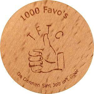 1000 Favo's