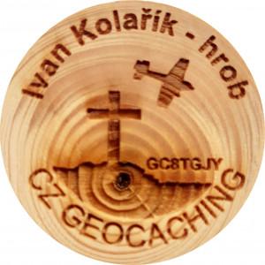 Ivan Kolařík - hrob