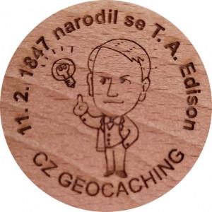 11. 2. 1847 narodil se T. A. Edison