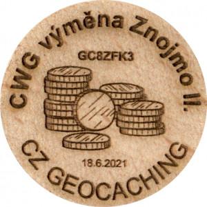CWG výměna Znojmo II.
