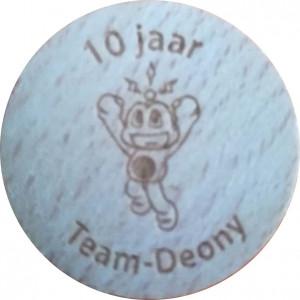 10 jaar Team-Deony
