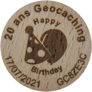 20 ans Geocaching