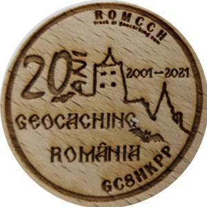 20  ANI GEOCACHING ROMANIA