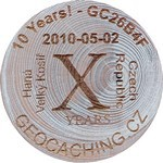 10 Years! - GC26B4F