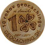 10 rokov geocachingu
