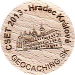 CSET 2013 - Hradec Králové (sle00110)