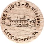 CSET 2013 - Bratislava (sle00111)