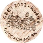 CSET 2013 - Košice