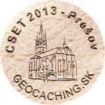 CSET 2013 - Prešov (sle00123)