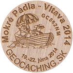 Mokré  Pádla - Vltava 2014