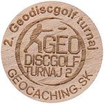 2. Geodiscgolf turnaj