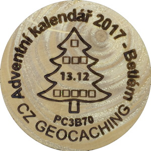 Adventní kalendář 2017 -Betlém
