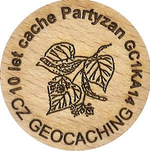 10 let cache Partyzan GC1KA14
