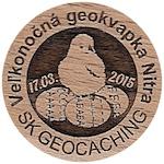 Veľkonočná geokvapka Nitra