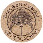 DiscGolf v parku