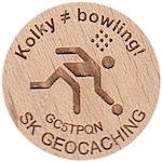 Kolky ≠ bowling!