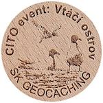 CITO event: Vtačí ostrov