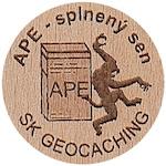 APE - splnený sen (wge00714)