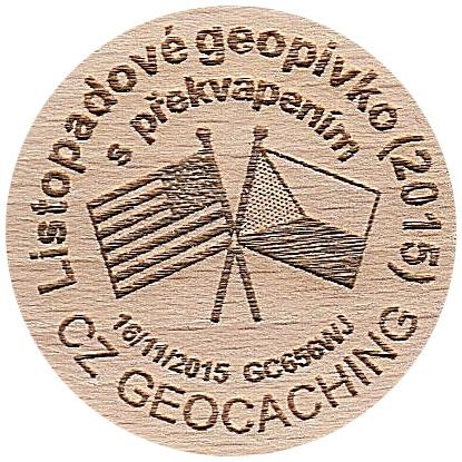 Listopadové geopivko (2015)