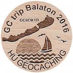 GC trip Balaton 2016