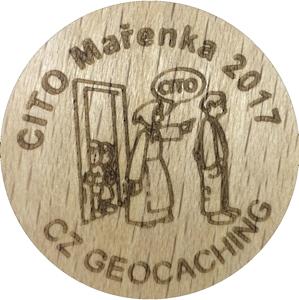 CITO Mařenka 2017